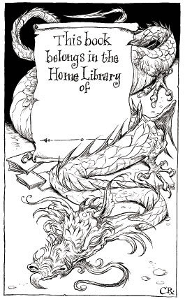 Chris Riddell's bookplate #2