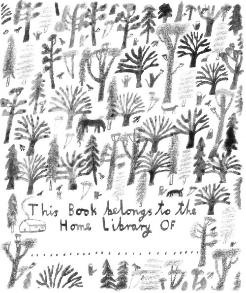 Laura Carlin's bookplate #1