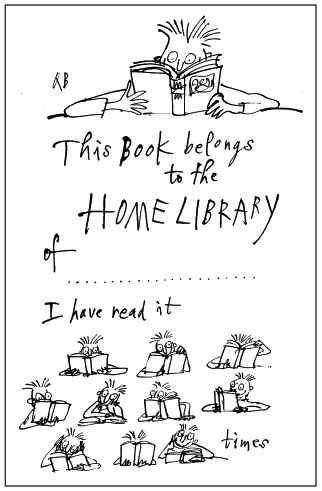 Quentin Blake's bookplate #1