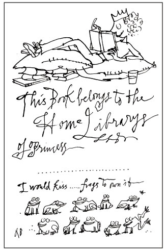 Quentin Blake's bookplate #3