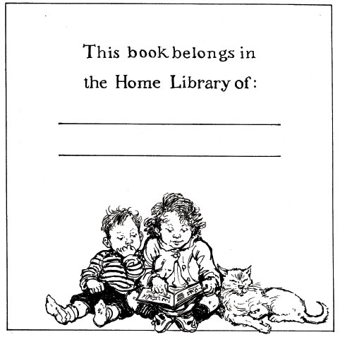 Shirley Hughes's bookplate #1