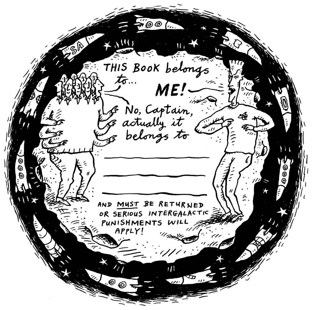 Steven Appleby's bookplate #2