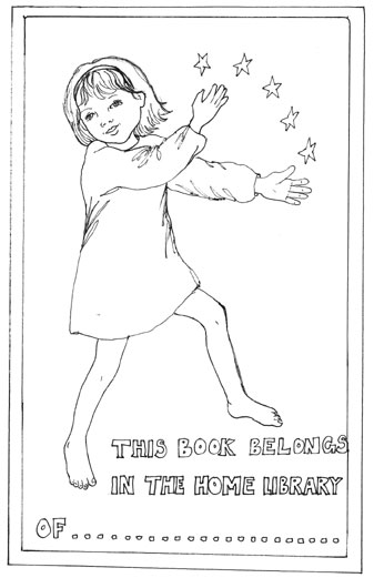 Susie Hodge's bookplate #1
