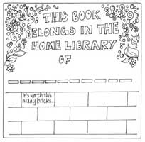 Susie Hodge's bookplate #5
